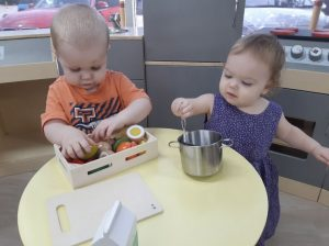 Toddlers playing - Bowen Hills Childcare Newstead