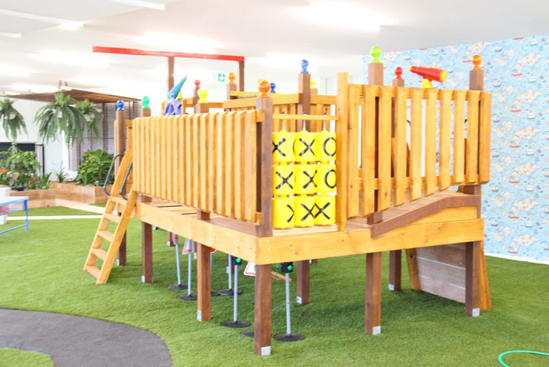 The Fort Play Area | Bowen Hills Early Learning