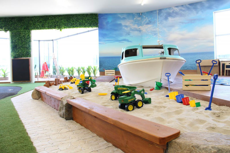 Boat Sand Pit | Bowen Hills Daycare Fortitude Valley