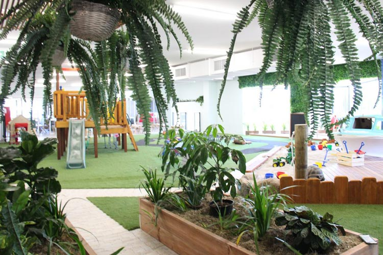 Playscape Greenery | Bowen Hills Early Learning Centre
