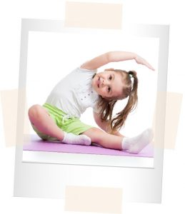 Girl doing Yoga | Bowen Hills Early Learning